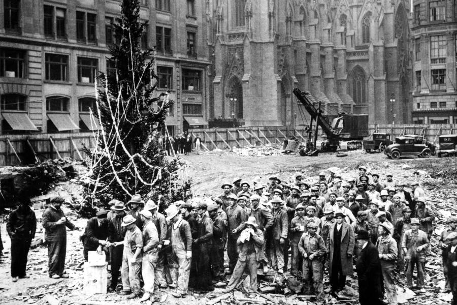 Rockefeller Christmas Tree 1931