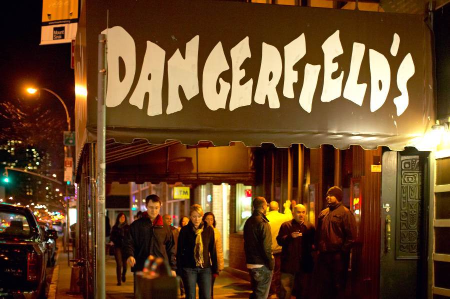Dangerfield's exterior