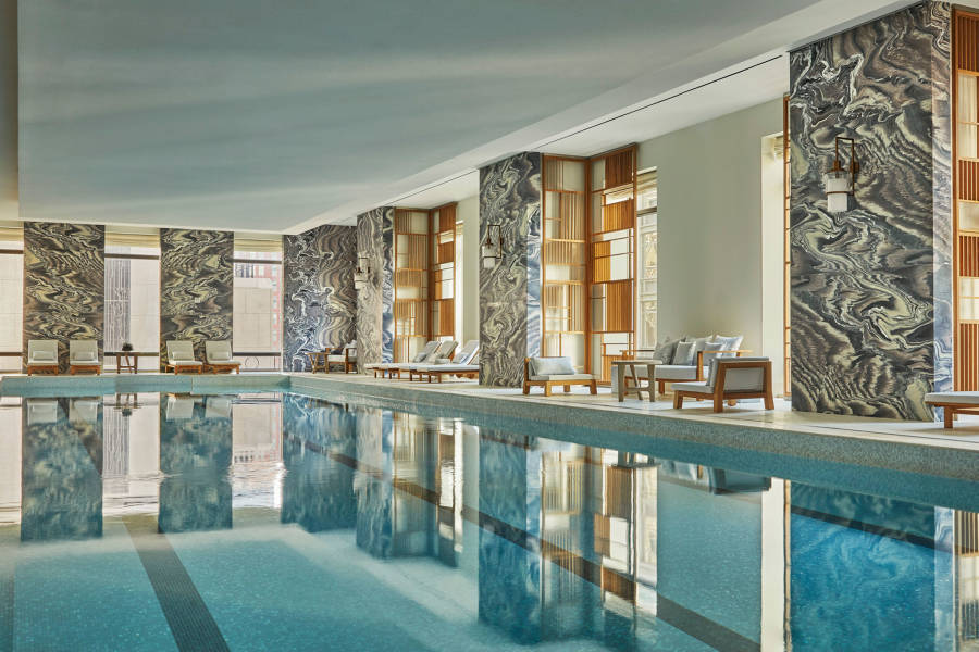 four seasons, pool