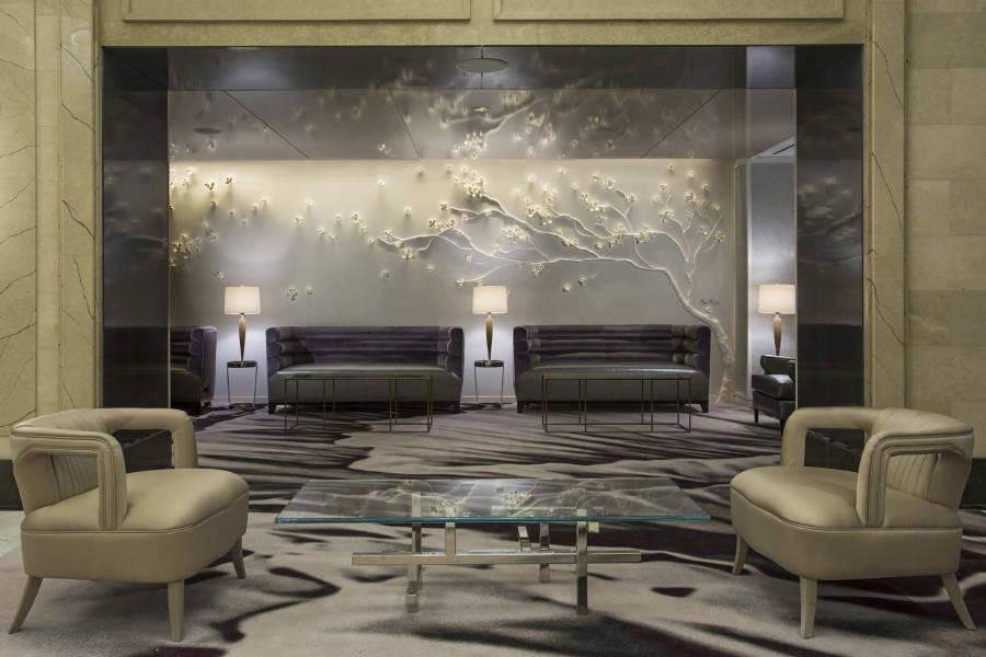 lobby, loews regency