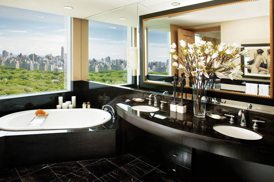 mandarin oriental, bathroom