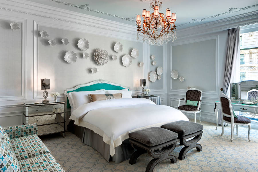 st. regis, tiffany suite