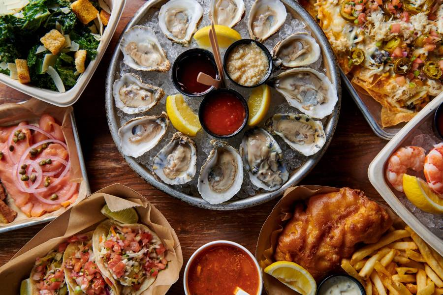 The Oyster House at Pier A, oysters