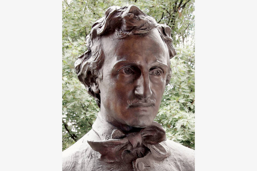 Bust of Poe