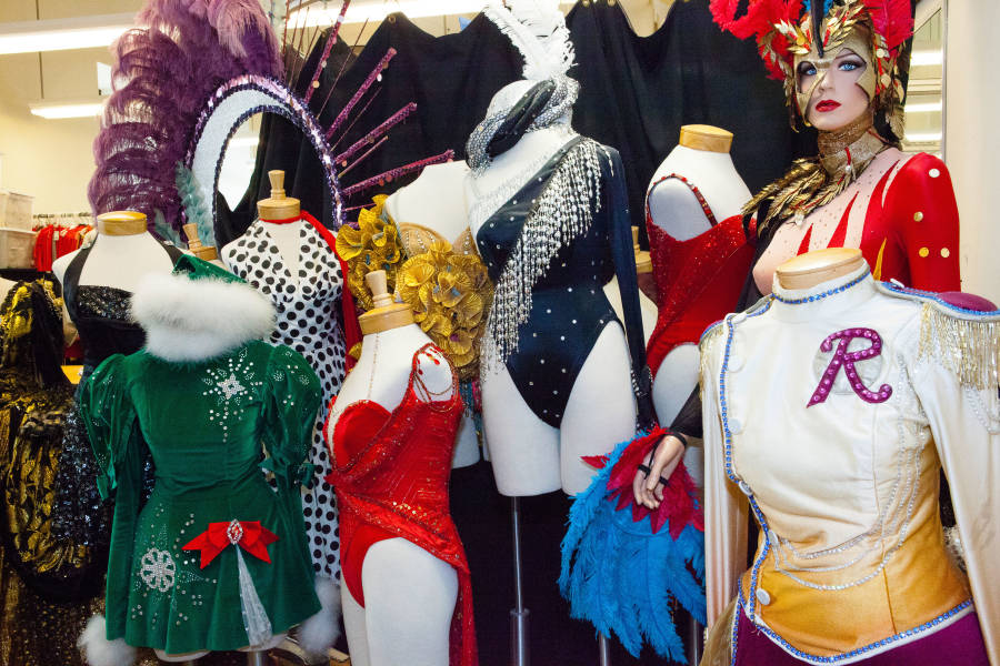 Costumes at Radio City Music Hall