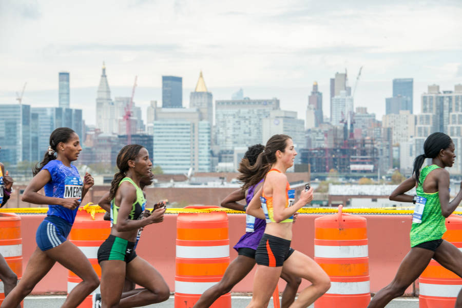 New York City Marathon runners