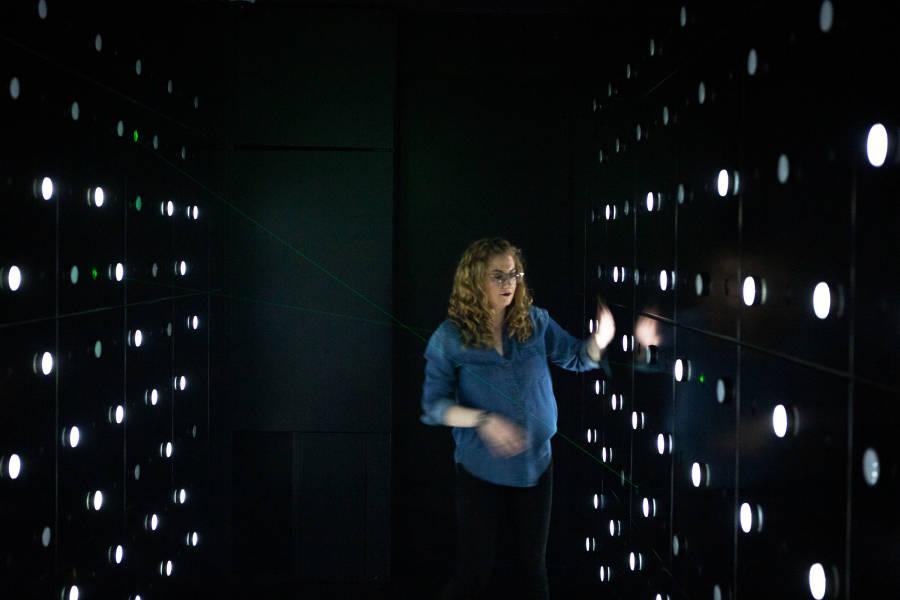 laser tunnel, spyscape
