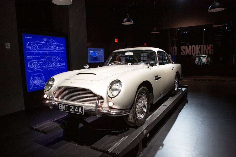 spyscape, james bond exhibit