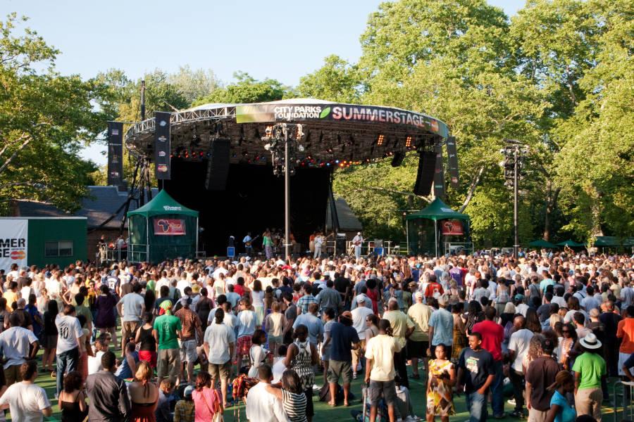summer concert series in central park manhattan