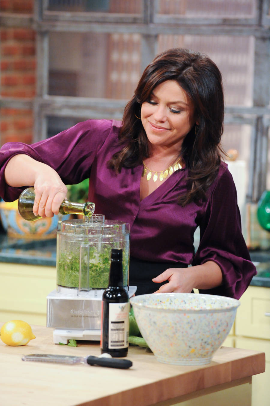 Rachel Ray TV show taping in New York City