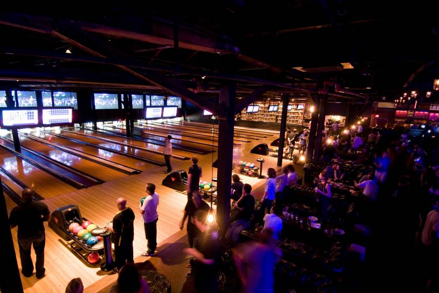 Brooklyn Bowl bowling alley