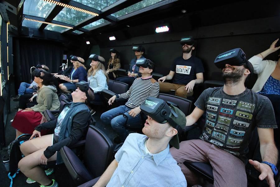 The Ride, Interior bus, VR