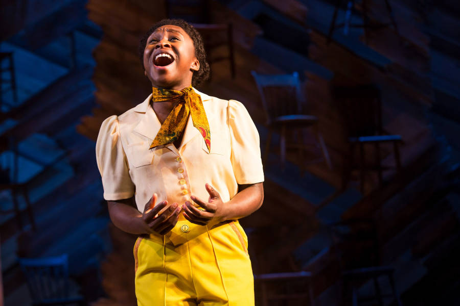 Cynthia Erivo in The Color Purple