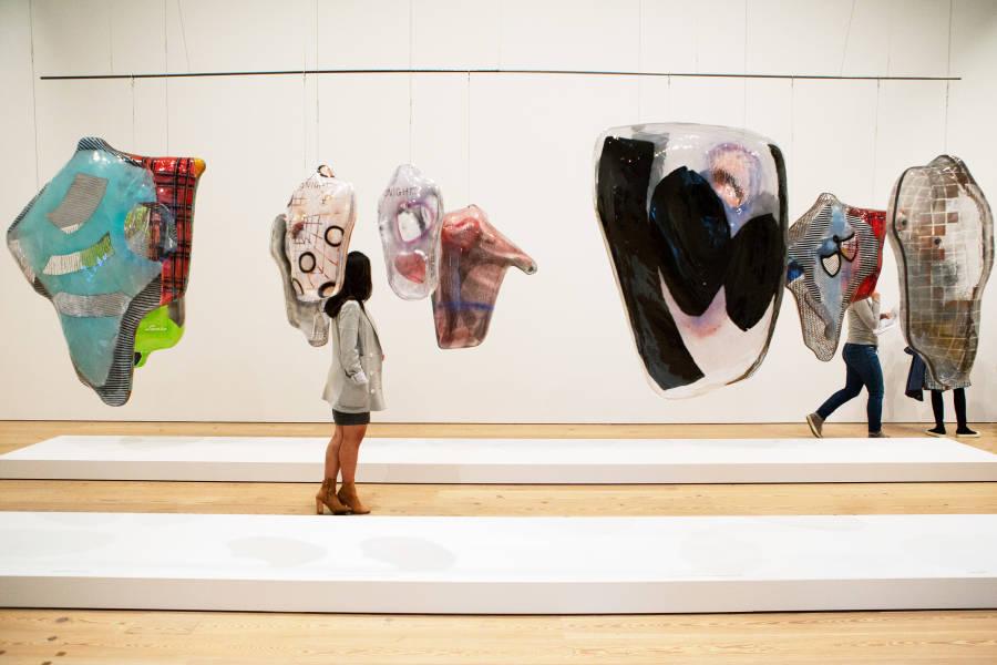 Whitney Biennial, ragen moss