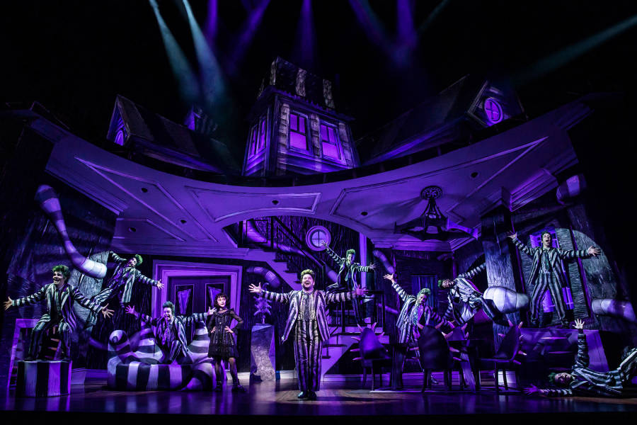 Beetlejuice, Broadway, musical