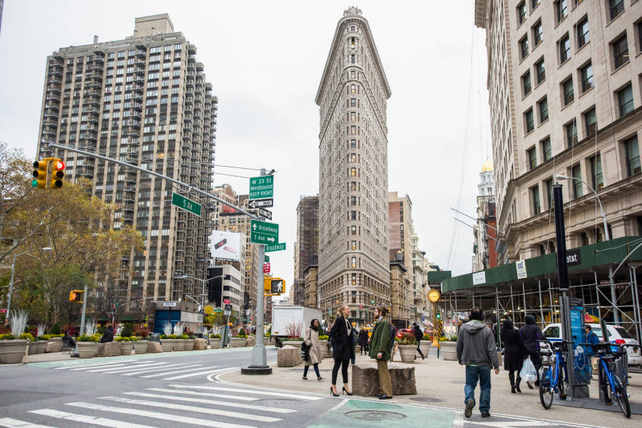 Flatiron District, NY: Flatiron Building, Eataly, Madison ... on map of new york metropolitan area, map of gerritsen beach, map of hell's kitchen, map of baruch college, map of norwood, map of hamilton heights, map of madison square, map of morris park, map of civic center, map of tudor city, map of west bronx, map of macy's herald square, map of chrysler building, map of fashion institute of technology, map of high line, map of times square, map of metlife building, map of metropolitan museum of art, map of kips bay, map of broad channel,