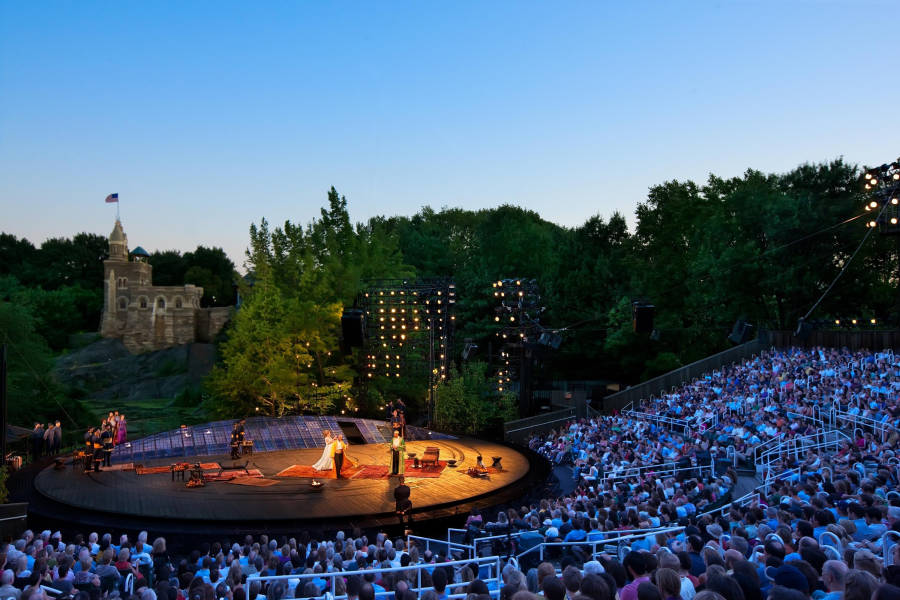 Shakespeare in the Park, Delacorte Theater,
