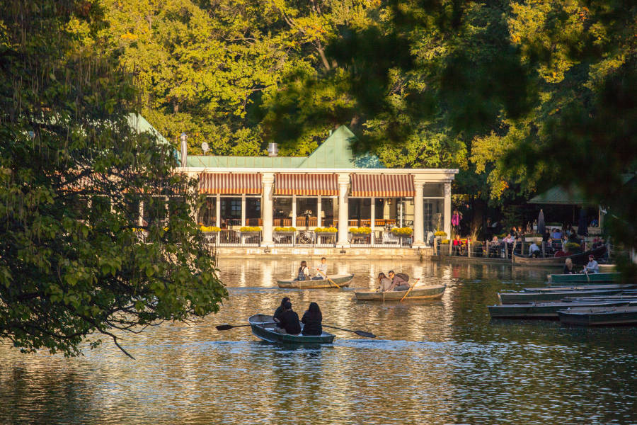 Loeb Boathouse, Central Park, Manhattan