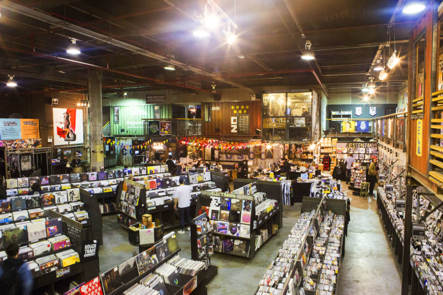 Rough Trade, Williamsburg, Records, Brooklyn, NYC, BK, Vinyl, Brittany Petronella, New York City