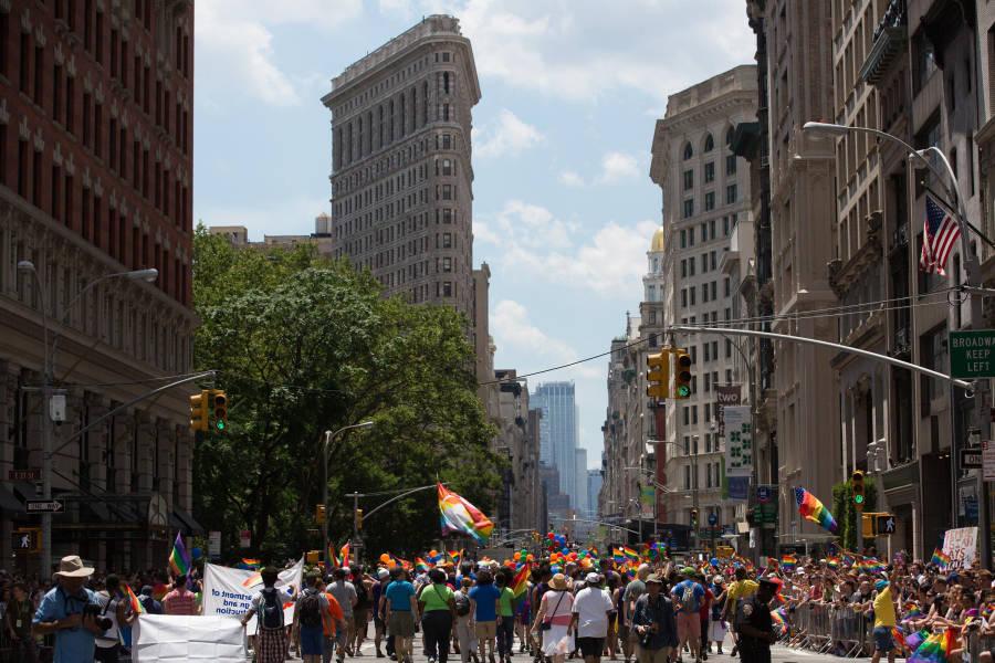 NYC Pride, Pride Parade, NYC Pride Parade, 2017 NYC Pride, Pride Parade Flatiron,