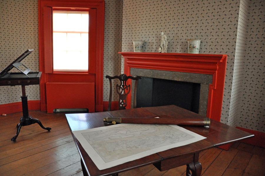 interior at Morris-Jumel Mansion, Bronx, NYC