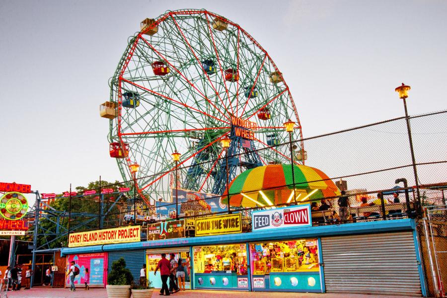 Coney Island, Brooklyn, NYC, Brittany Petronella, Wonder Wheel,