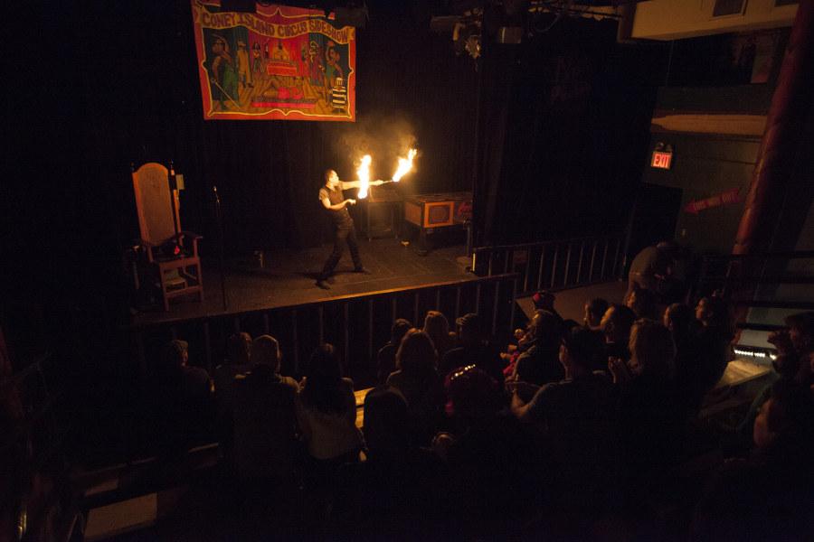 Coney Island Circus Sideshow, Jen Davis, Coney Island, Brooklyn, NYC