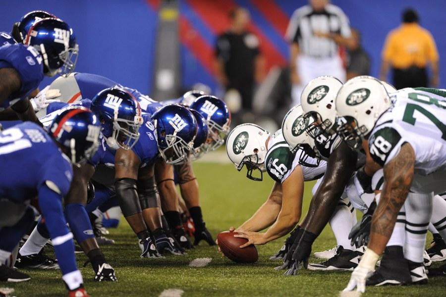 NY Giants, Football, MetLife Stadium