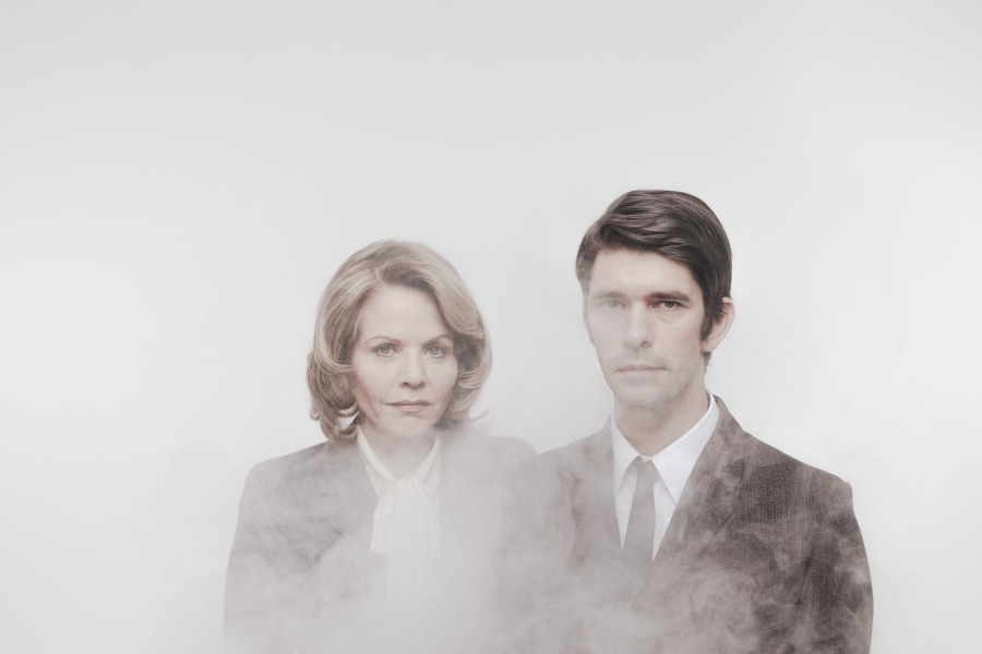 """Renée Fleming and Ben Whishaw, """"Norma Jeane Baker of Troy, Seen at The Shed in Hudson Yards NYC"""