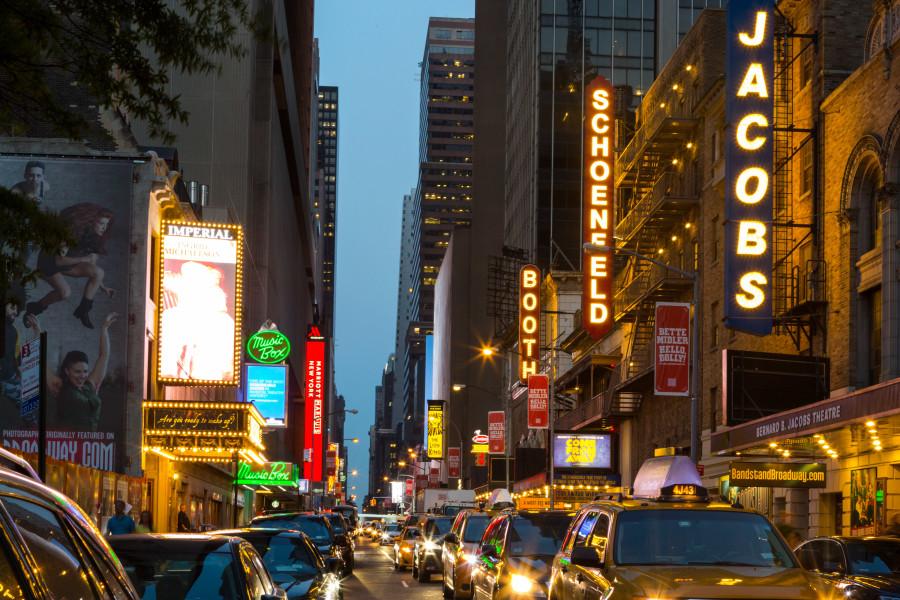 Broadway, Manhattan, Nightlife, NYC, Kate Glickberg