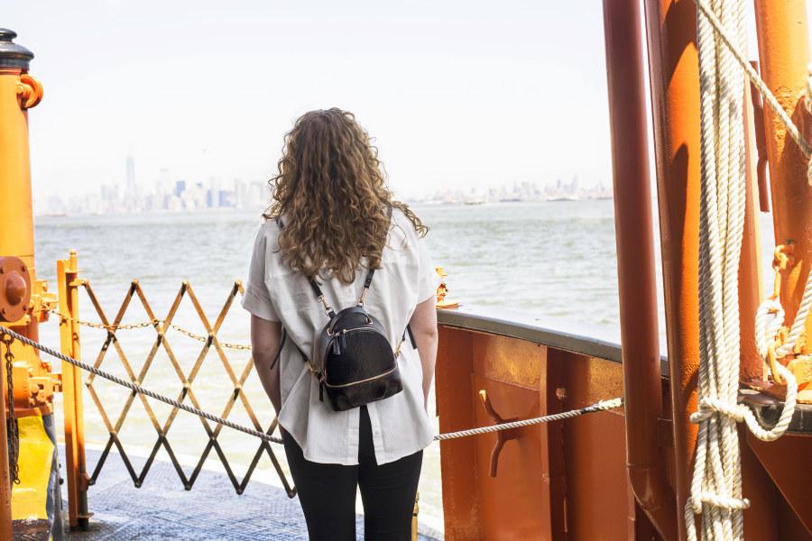 Staten Island Ferry, NYC, Staten Island, Brittany Petronella,