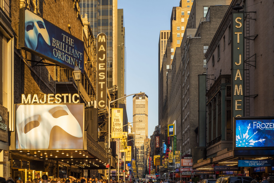 Times Square, Broadway, Theater 101,