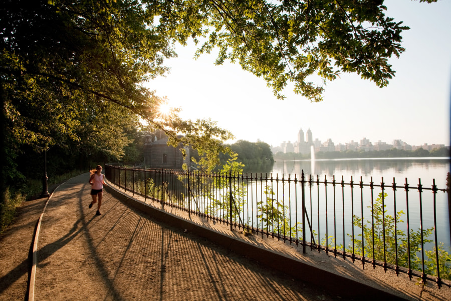 Central Park Resevior