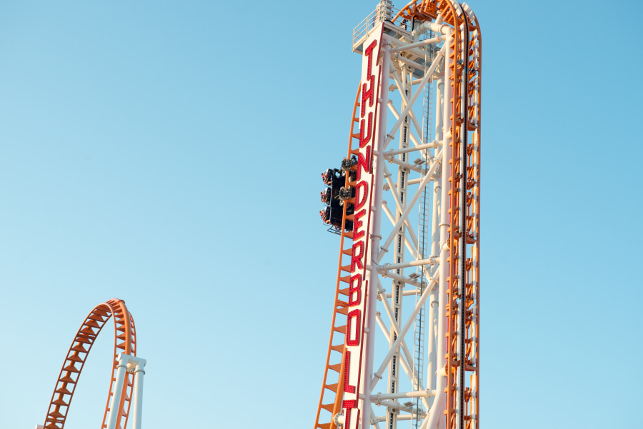 Thunderbolt at Luna Park in Coney Island