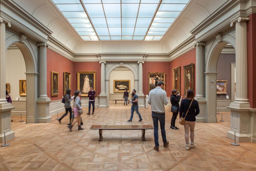 The Met Fifth avenue, interior, gallery