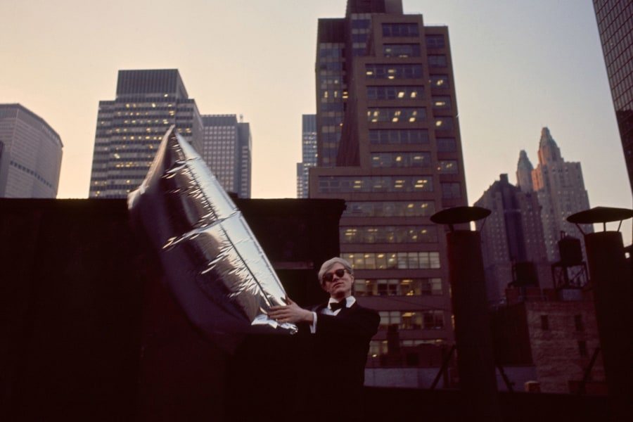 Andy Warhol, 1967. Photo: Herve GLOAGUEN/ Gamma-Raphot/ Getty Images