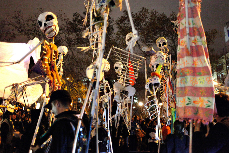 Halloween Parade nyc