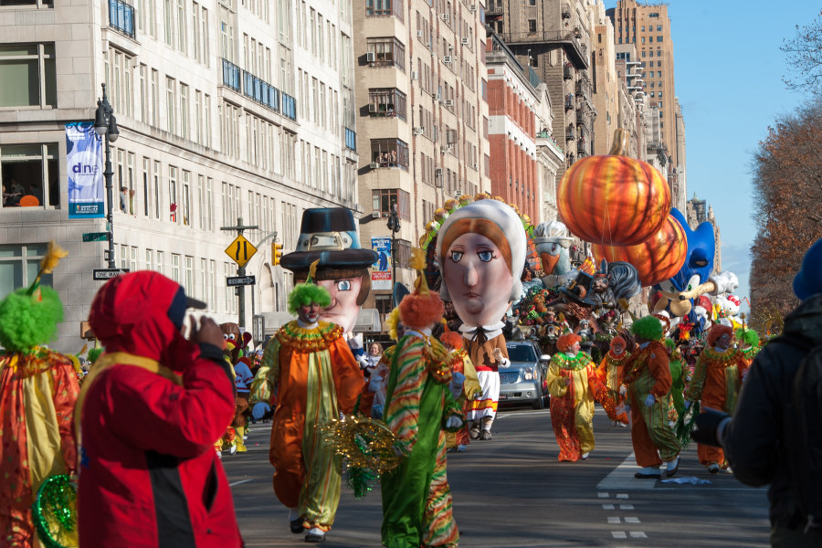 Thanksgiving de Macy's Day Parade nyc