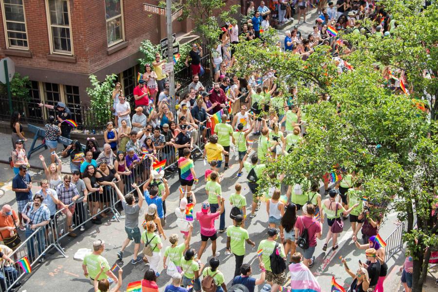 pride parade, christopher street