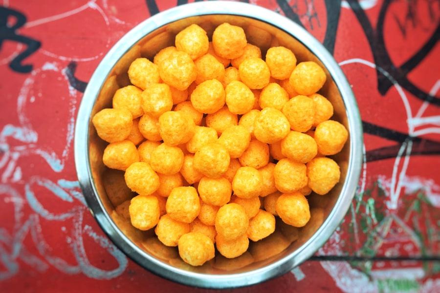 The Levee Cheese Balls