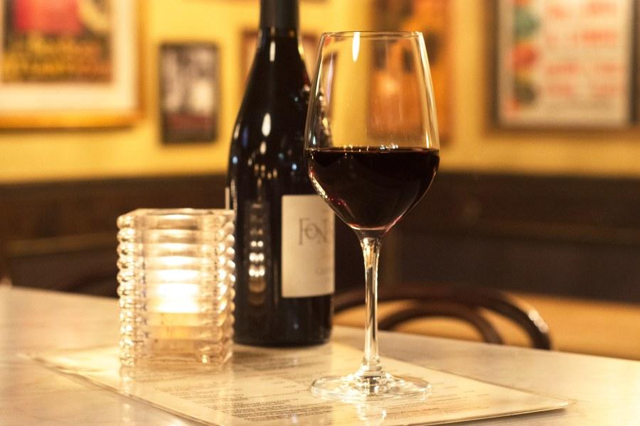 Vanguard Wine Bar nyc