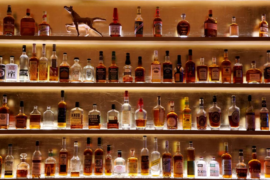 Maysville Whiskey Wall