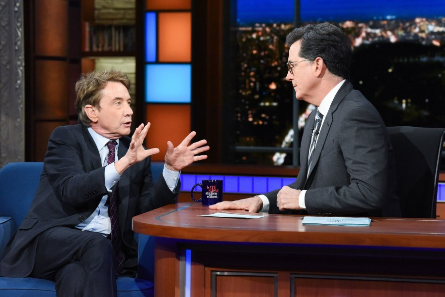 Late show with stephen Colbert