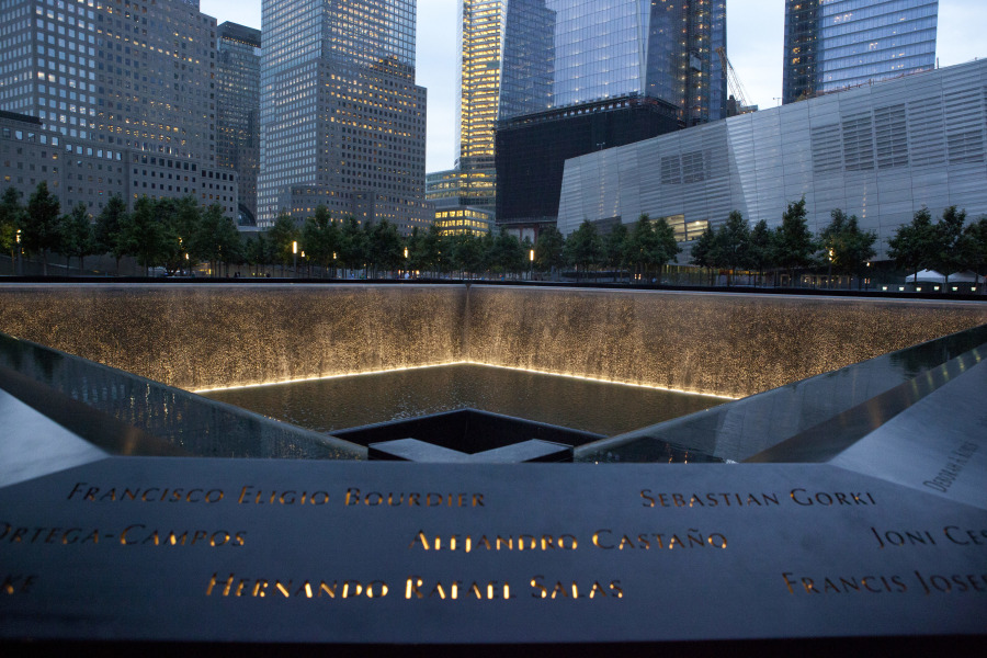 9/11 Memorial & Museum is free from 5pm to close on Tuesdays located in lower manhattan