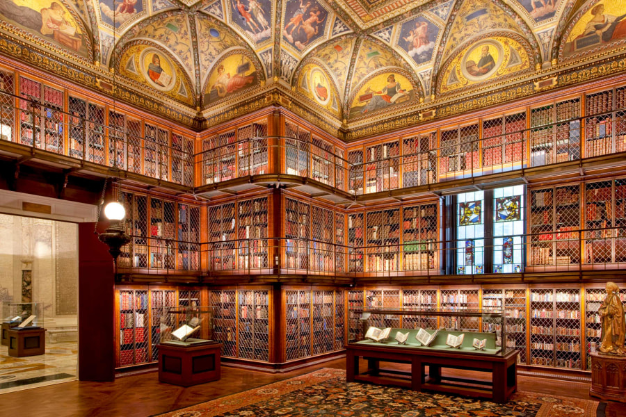 morgan library and museum for those looking for free things to do in nyc