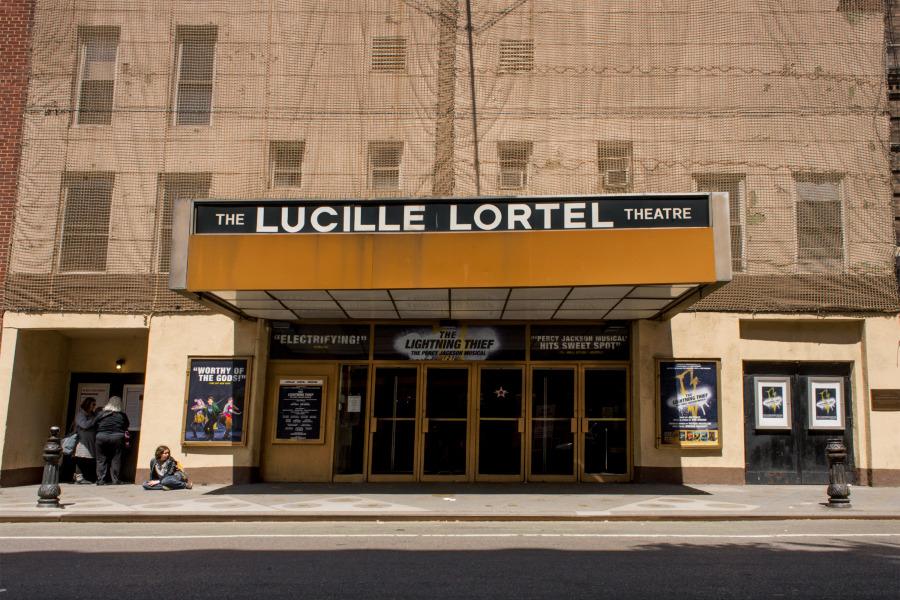 Lucille Lortel Theatre Exteiror