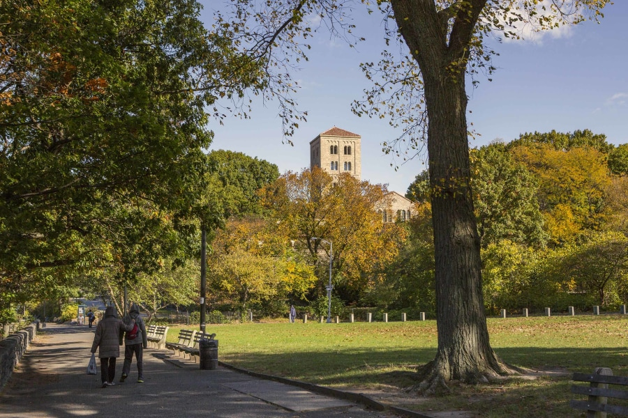Fort Tryon park,