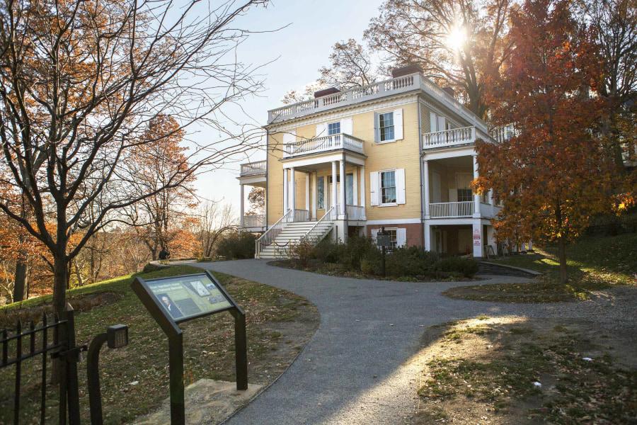Hamilton Grange, exterior