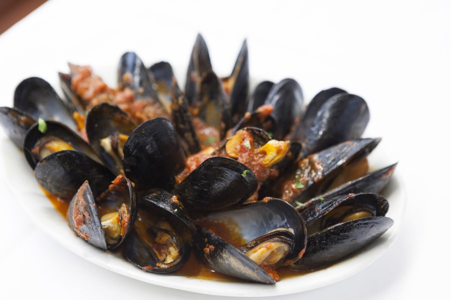 bamonte's, mussels