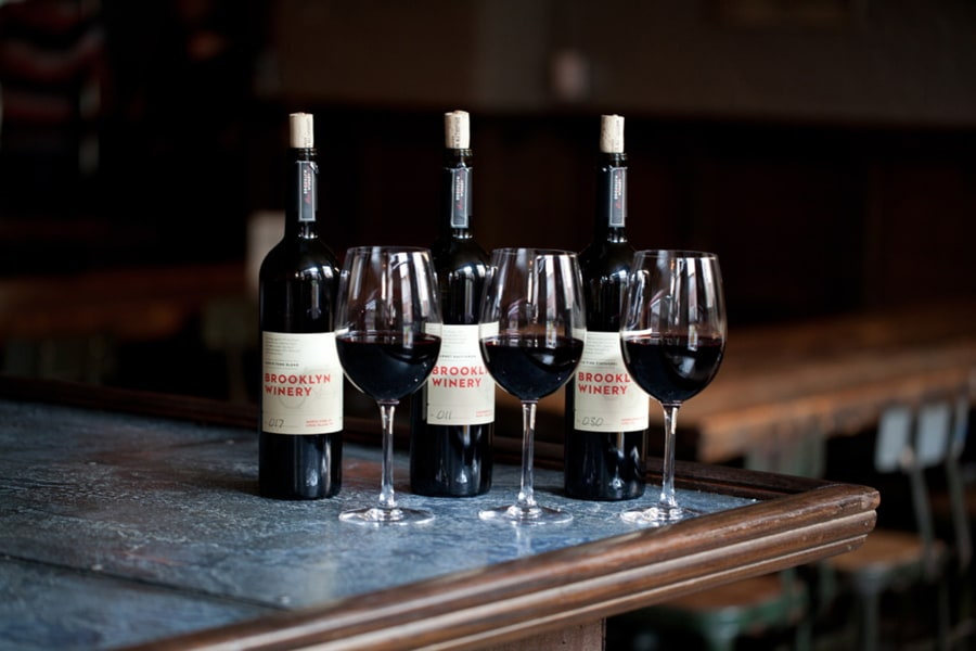 brooklyn winery, wine